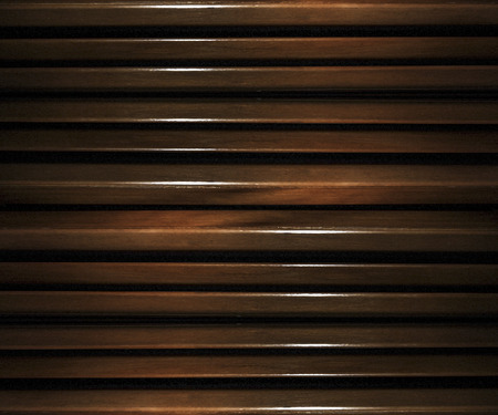 background motif: Glazed wood abstract futuristic or modern geometric background motif in vibrant brown tones.