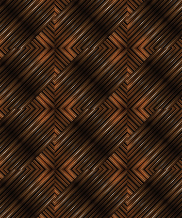 sofisticated: Glazed wood abstract futuristic or modern geometric pattern motif in vibrant brown tones.