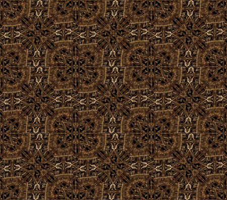 the strongest: Digital manipulated technique pattern artwork made it from iron pictures in dark brown tones. Stock Photo