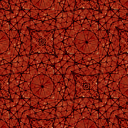 saturated: Grunge style texture geometric artwork pattern mandala symbol in saturated red tones background