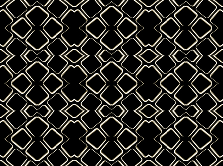 screen savers: Digital technique style futuristic tech abstract background pattern with geometry motif in black and white colors. Stock Photo