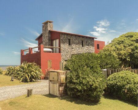 ignacio: Elegant luxury house in front of the beach in Jose Ignacio, an exclusive watering place in Uruguay