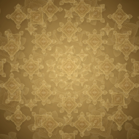 motif pattern: Decorative ornate geometric modern graphic shapes motif pattern in pale warm colors also useful as background.