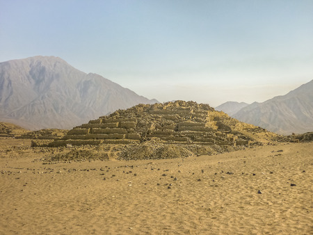 Caral was the capital of the Caral civilization, is situated in the valley of Supe at north of Lima and is considered the oldest civilization in America.