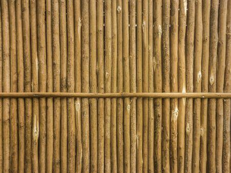 Digital edited wicker texture background in brown tones. Stock Photo
