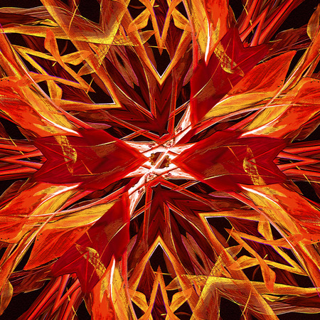 vivid colors: Abstract modern background in mixed vivid warm colors and black background