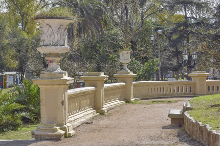 Sunny dat at park in the city of La Plata, one of the most important cities of Buenos Aires, Argentina.