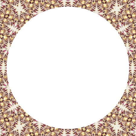 white background with collage decorative ornate pattern mosaic