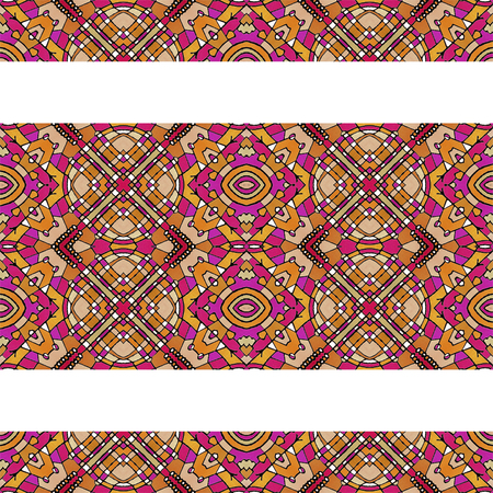 otras palabras clave: Digital art technique stationery abstract background with oriental style in warm colors decorated borders