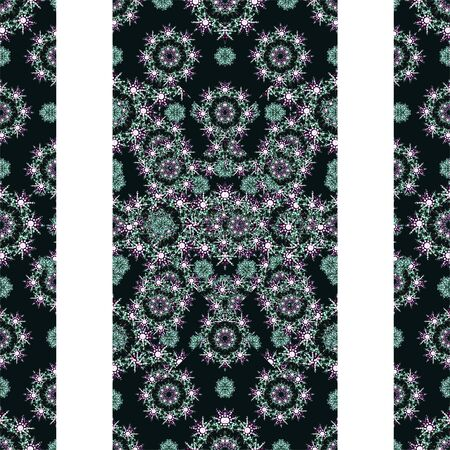 refine: White background with luxury pattern design borders Stock Photo