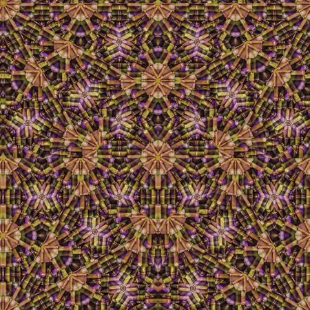 colores calidos: diseño geométrico abstracto digital collage patrón de fondo en colores cálidos mezclados.