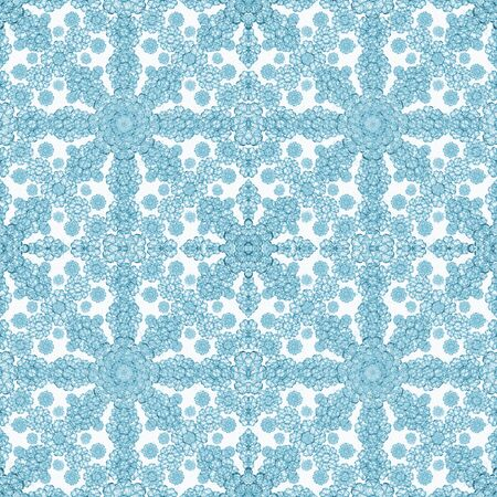 photo manipulation: Digital collage and photo manipulation technique floral boho style geometric check seamless pattern design
