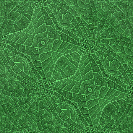 saturated: Artificial abstract plant closeup texture background in saturated green colors.