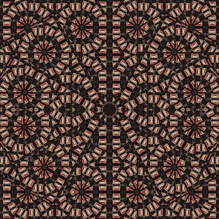 bold: Digital abstract bold geometric seamless ethnic pattern background design