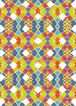 otras palabras clave: Colorful multicolored geometric check pattern background