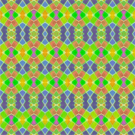mixed colors: Colorful multicolored geometric abstract digital photo collage technique seamless pattern background design in mixed colors.