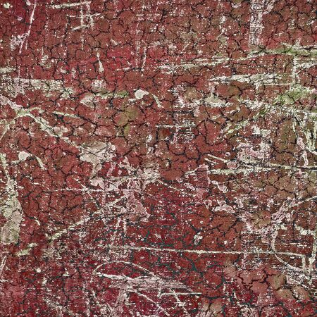 wasted: Abstract grunge cracked background texture in red colors