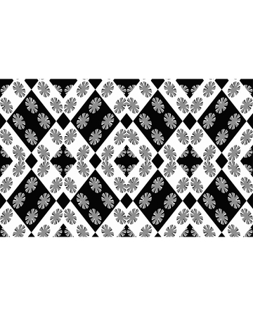 baroque border: Stationery white background with decorated design borders