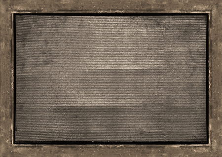 Abstract textured frame background with iron surface borders.