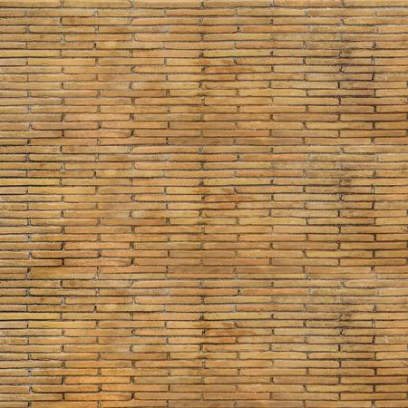 Brickwall motif geometric seamless pattern design in orange colors Stok Fotoğraf