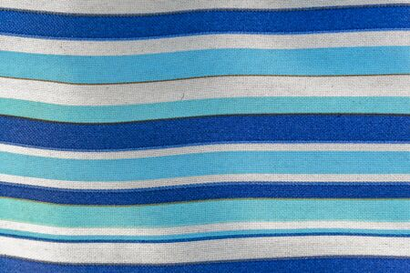 Blue and white colors fabric stripes design abstract texture background Foto de archivo - 150126250