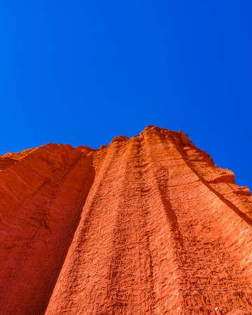 Day landscape scene at talampaya national park, la rioja province, argentina