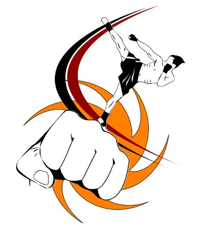patada: Kick boxing