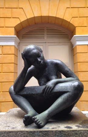 mujeres negras: Las mujeres negras estatua
