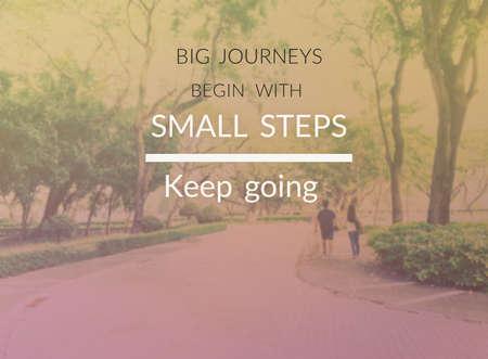 Inspiration quote & motivational background Фото со стока
