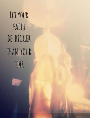 Inspiration quote & motivational background Standard-Bild