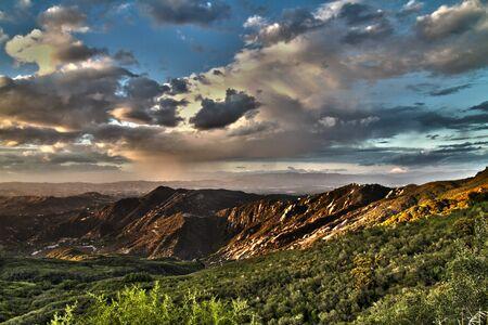 Western Landscape Stunt Road 写真素材