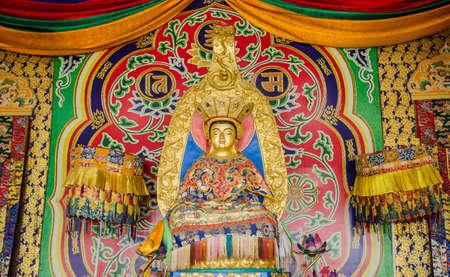 bodhisattva: image of Bodhisattva chinese art Stock Photo