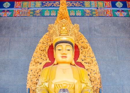 image of Bodhisattva chinese art sattue photo