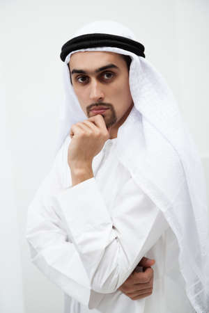 arab man: Portrait of a handsome Middle Eastern businessman