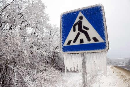 pedestrian sign: pedonale segno