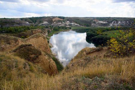 bridalveil fall: Rocks on the River