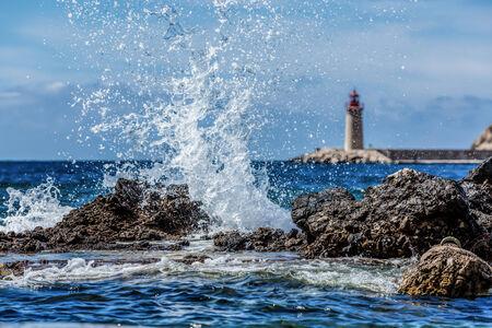 Crashing Waves, Port Andratx, Mallorca, Spain photo