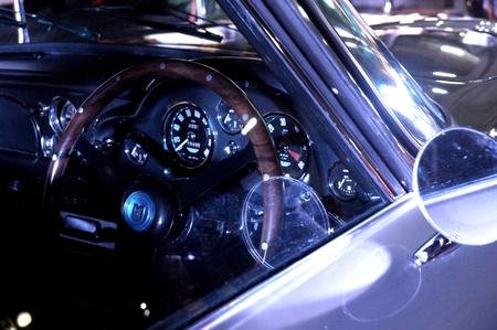 james bond: Peeking Through Aston Martin DB5