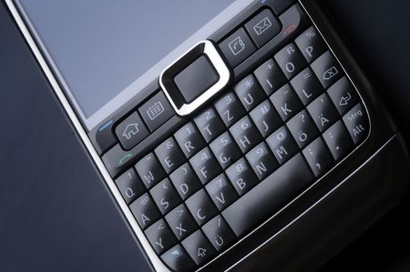 smart cell phone keyboard photo
