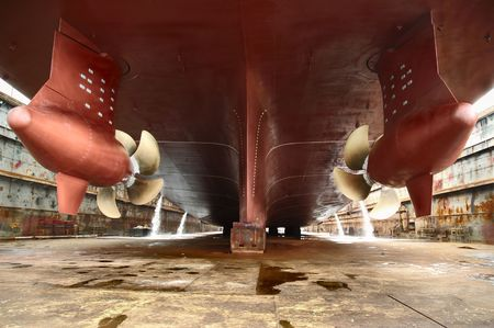 commerce and industry: dry dock
