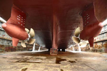 dry dock Stock Photo - 5205147