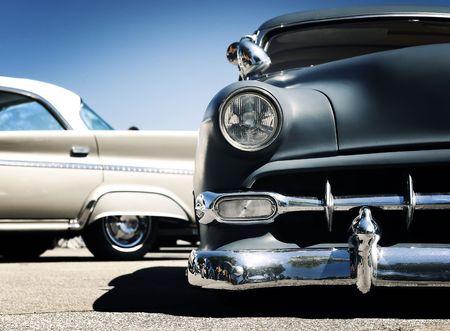 car show: Retro car - American classics