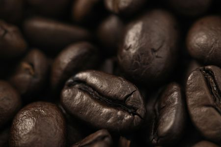roasted coffee beans Stock Photo - 5233236