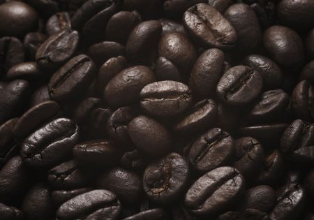 roasted coffee beans Stock Photo - 5233239