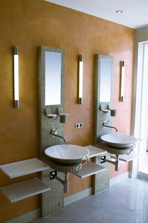 현대적인 욕실 스톡 콘텐츠