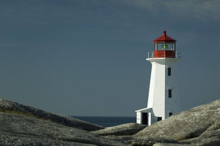 guard house: Peggy`s Cove