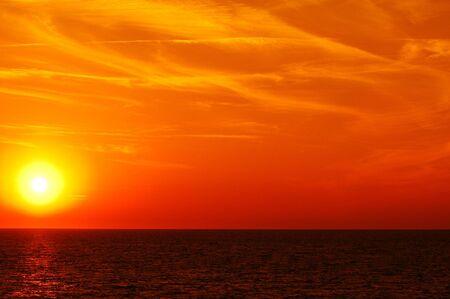 Sunset at sea Stock Photo - 5658618