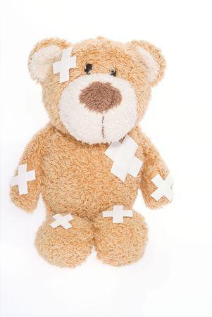 teddy bear in hospital