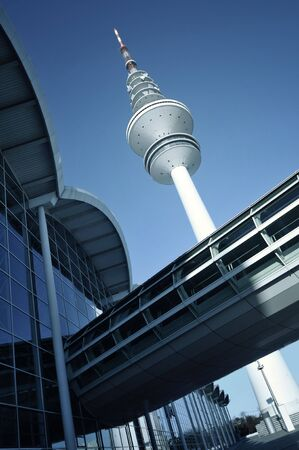 Congress Center Hamburg and TV tower, Germany