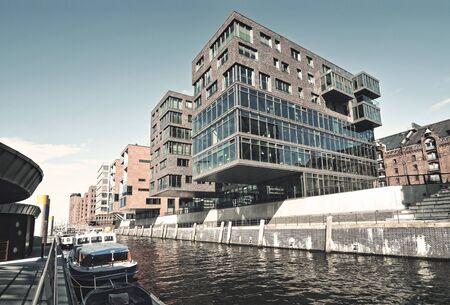 View from Hafencity Hamburg, Germany